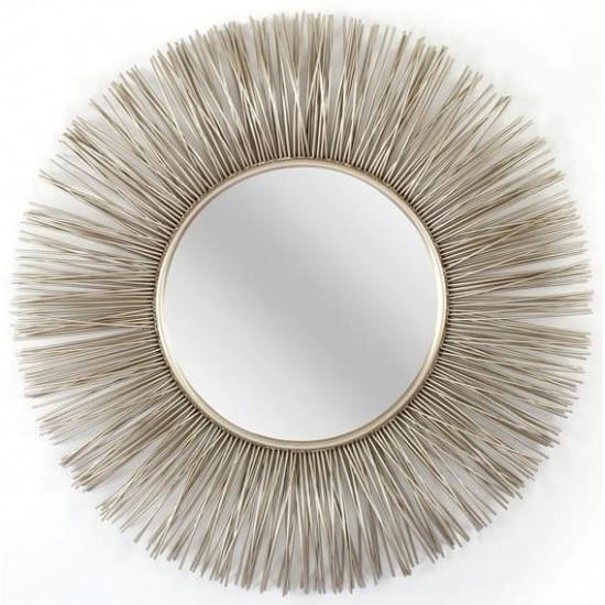 Зеркало солнце в металлической раме Sirius  в интернет-магазине ROSESTAR фото