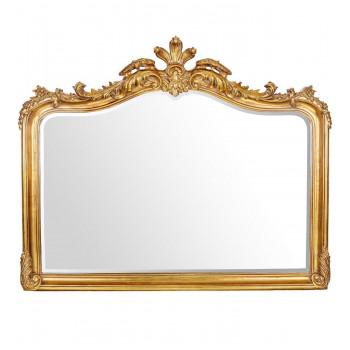 Зеркало в резной золотой раме Solerno Gold