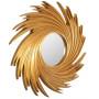 Зеркало солнце в золотой раме Tornado Gold в интернет-магазине ROSESTAR фото 1
