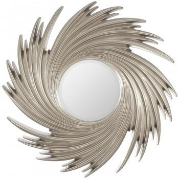 Зеркало в раме модерн Tornado Silver