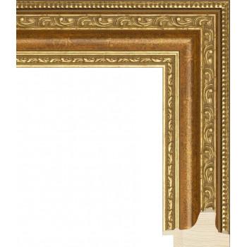 RS003.1.098 Деревянный багет золотой