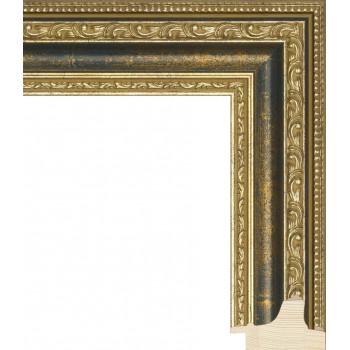 RS003.1.099 Деревянный багет золотой
