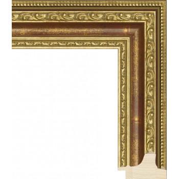 RS003.1.100 Деревянный багет золотой