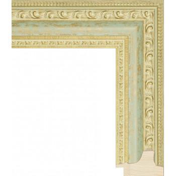 RS003.1.120 Деревянный багет золотой
