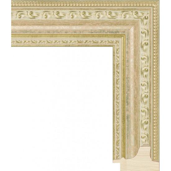RS003.1.190 Деревянный багет золотой в интернет-магазине ROSESTAR фото