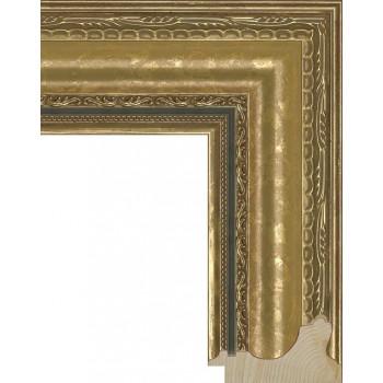 RS004.1.007 Деревянный багет золотой