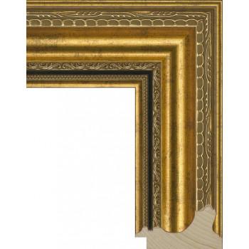 RS004.1.009 Деревянный багет золотой