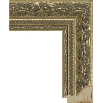 RS005.1.081 Деревянный багет золотой