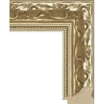 RS006.1.014 Деревянный багет золотой