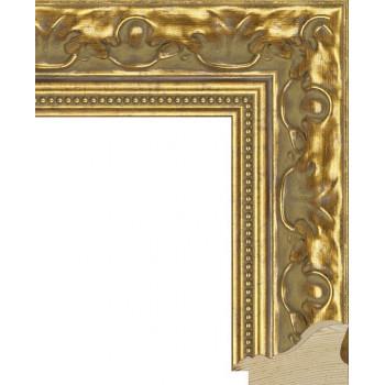 RS006.1.015 Деревянный багет золотой