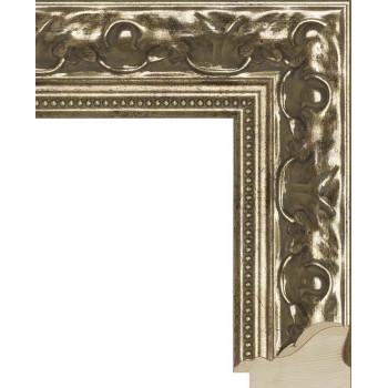 RS006.1.016 Деревянный багет серебряный