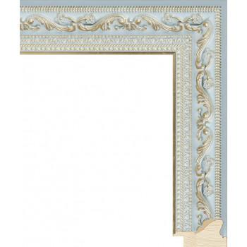 RS008.2.134 Деревянный багет голубой