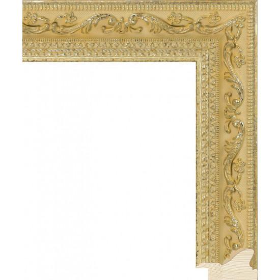RS008.2.191 Деревянный багет золотой в интернет-магазине ROSESTAR фото