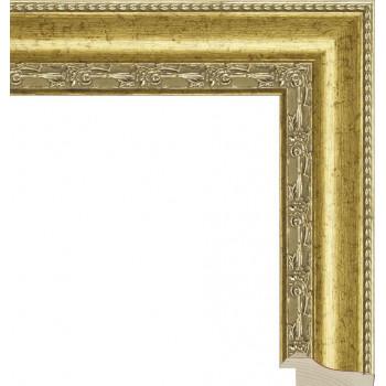 RS010.1.024 Деревянный багет золотой
