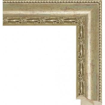 RS010.1.025 Деревянный багет золотой