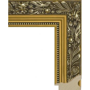 RS013.1.034 Деревянный багет золотой