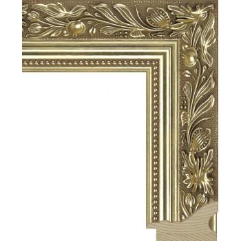 RS013.1.036 Деревянный багет золотой