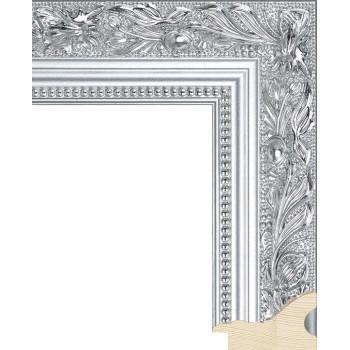 RS013.1.211 Деревянный багет серебряный