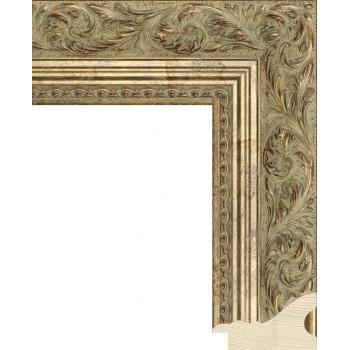 RS013.2.242 Деревянный багет золотой