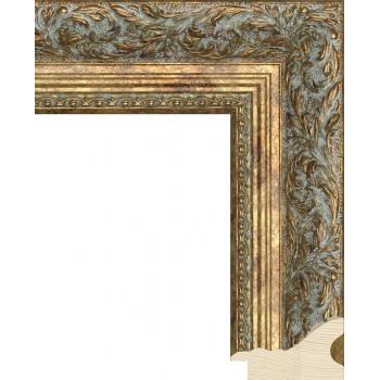 RS013.2.253 Деревянный багет золотой