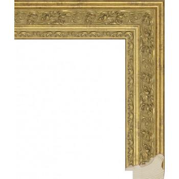RS014.1.038 Деревянный багет золотой