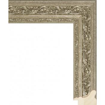 RS014.1.226 Деревянный багет серебряный