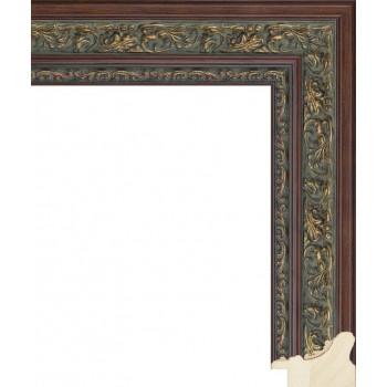RS014.1.228 Деревянный багет коричневый