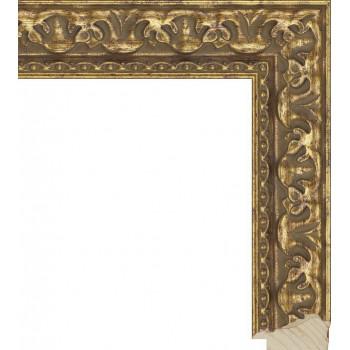 RS015.1.041 Деревянный багет золотой