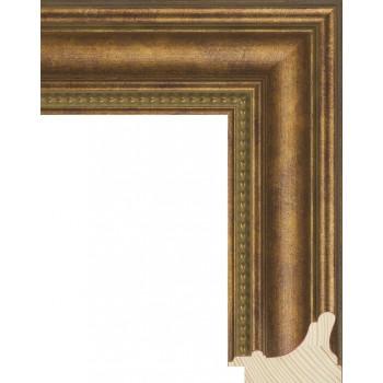 RS016.1.049 Деревянный багет золотой