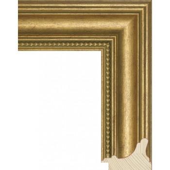 RS016.1.051 Деревянный багет золотой