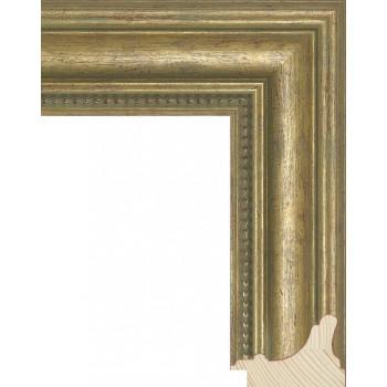 RS016.1.053 Деревянный багет золотой