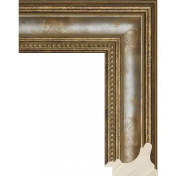 RS016.1.243 Деревянный багет золотой