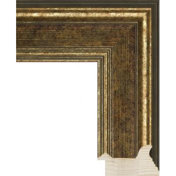 RS018.0.212 Деревянный багет коричневый