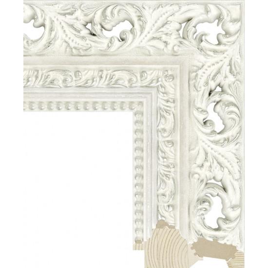 RS021.1.206 Деревянный багет белый в интернет-магазине ROSESTAR фото