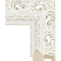 RS021.1.329 Деревянный багет белый