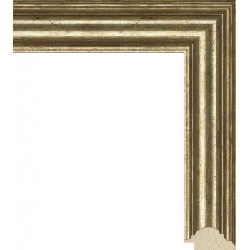 RS022.0.045 Деревянный багет золотой