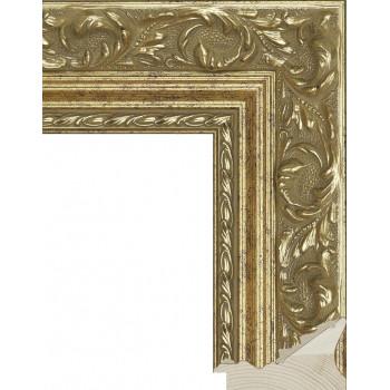 RS023.1.064 Деревянный багет золотой