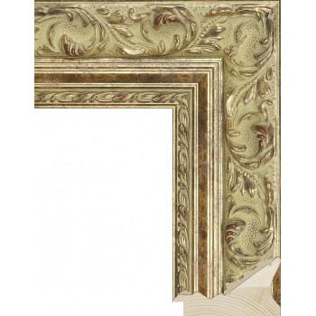 RS023.1.242 Деревянный багет золотой