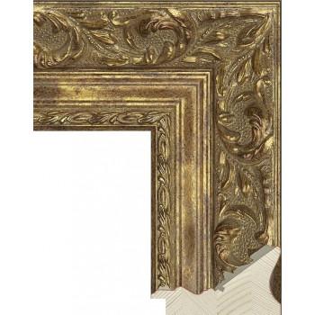 RS023.1.356 Деревянный багет золотой