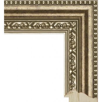 RS025.1.075 Деревянный багет бронзовый