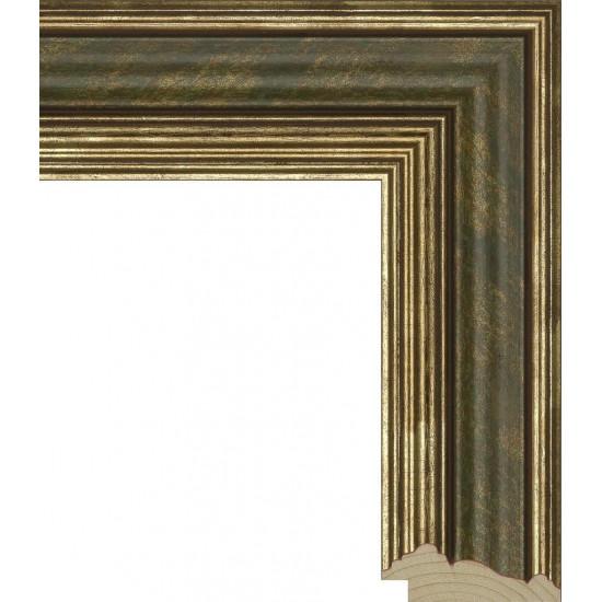 RS026.0.060 Деревянный багет зелёный в интернет-магазине ROSESTAR фото