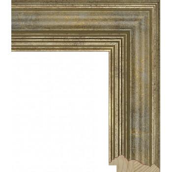 RS026.0.067 Деревянный багет серебряный