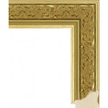 RS027.1.011 Деревянный багет золотой