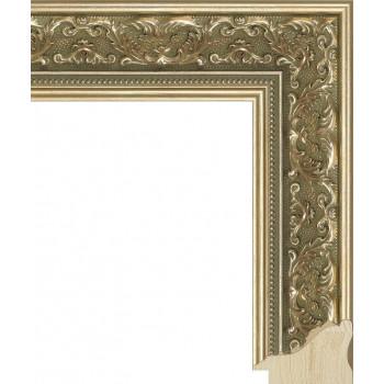 RS027.1.086 Деревянный багет золотой