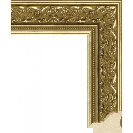 RS027.1.087 Деревянный багет золотой в интернет-магазине ROSESTAR фото