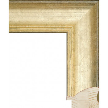 RS031.0.235 Деревянный багет золотой