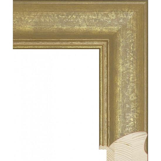 RS031.0.334 Деревянный багет золотой в интернет-магазине ROSESTAR фото