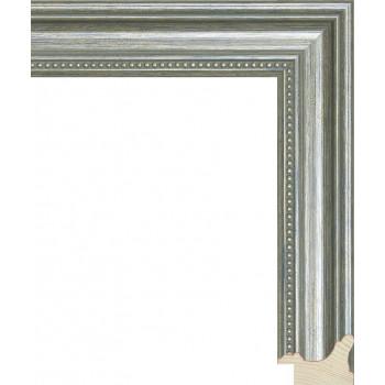 RS033.1.050 Деревянный багет серебряный