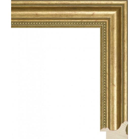 RS033.1.051 Деревянный багет золотой в интернет-магазине ROSESTAR фото