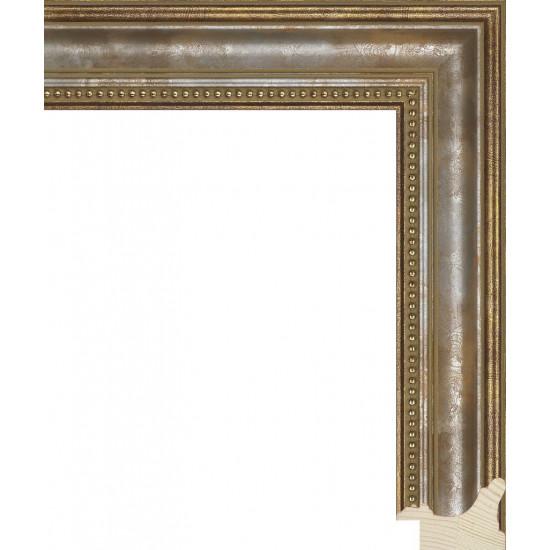 RS033.1.243 Деревянный багет золотой в интернет-магазине ROSESTAR фото